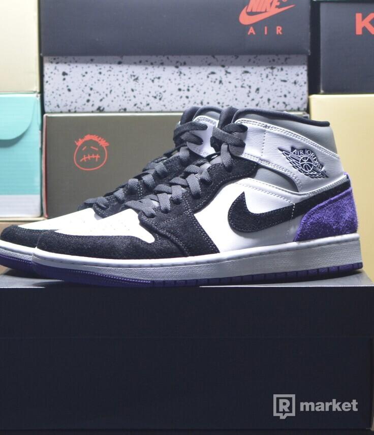 """Jordan 1 Mid """"SE Purple"""""""