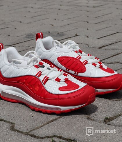 "Air Max 98 ""University  Red"" US9.5"