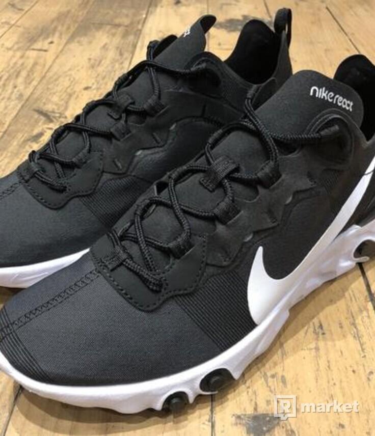 Nike React Element 55 Black/White(Veľkosť 41)