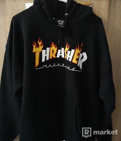 Trasher flame mag hood