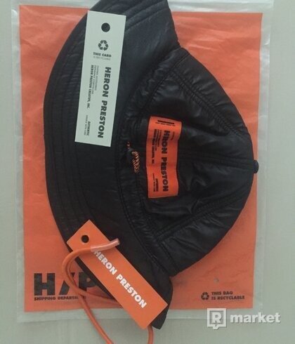 Heron preston fishing bucket hat
