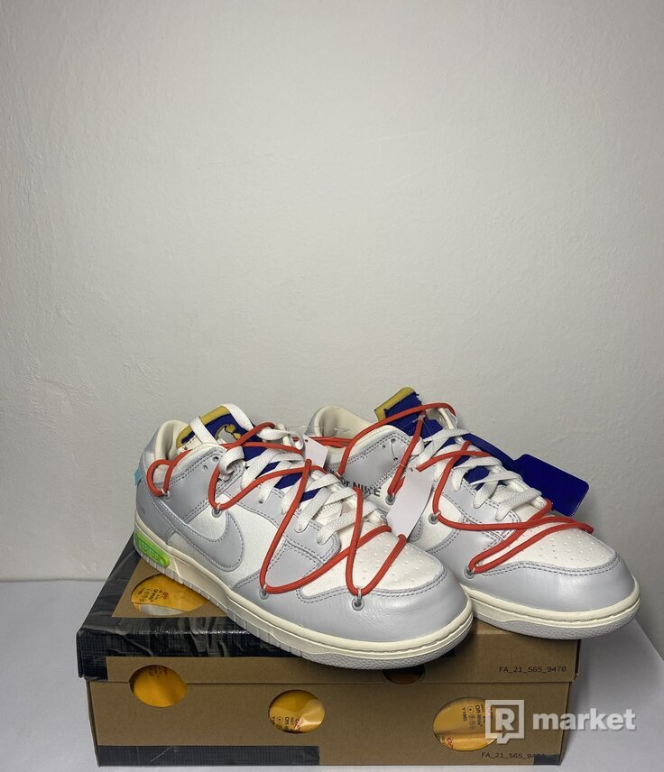 Nike dunk low x Off-White Lot 23