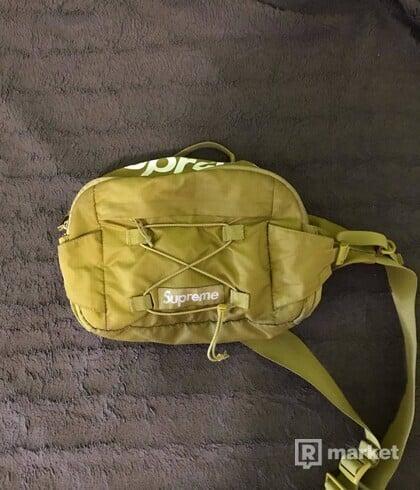 Supreme waist bag SS17 yellow