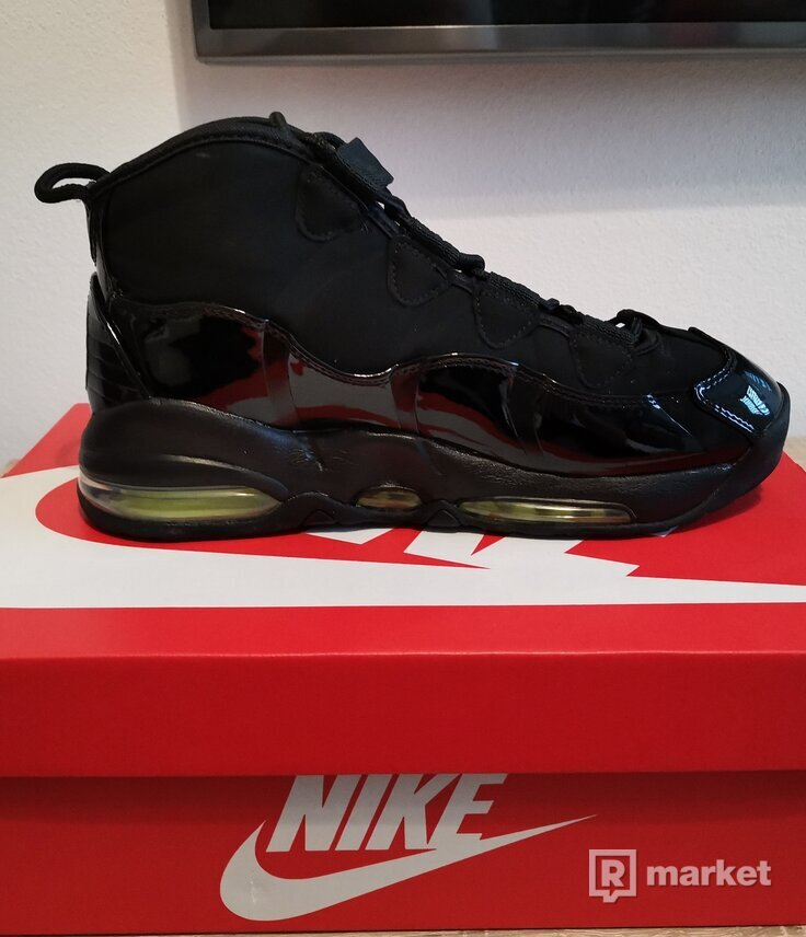 Nike Air Max Uptempo 95 Black and Lime