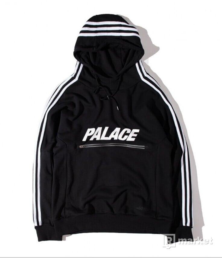 Palace x Adidas Hoodie Black 3M