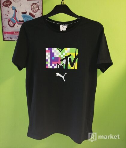 Puma MTV tee size L
