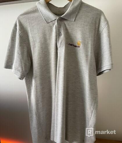 Carhartt Polo Shirt Grey