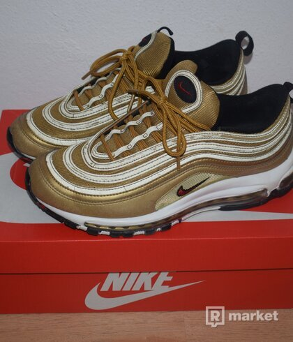 Nike Air Max 97 OG QS Metallic gold/varsity red