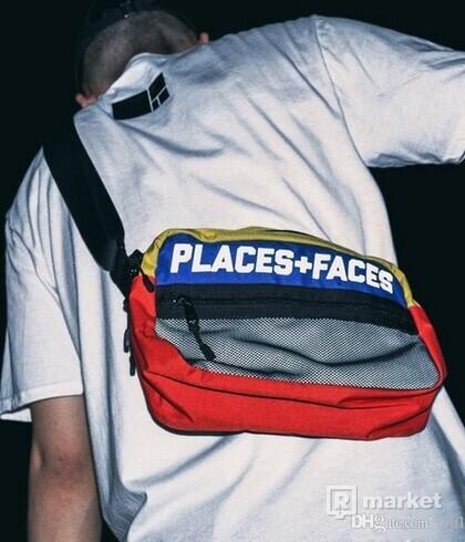 Places+Faces shoulder bag colorful