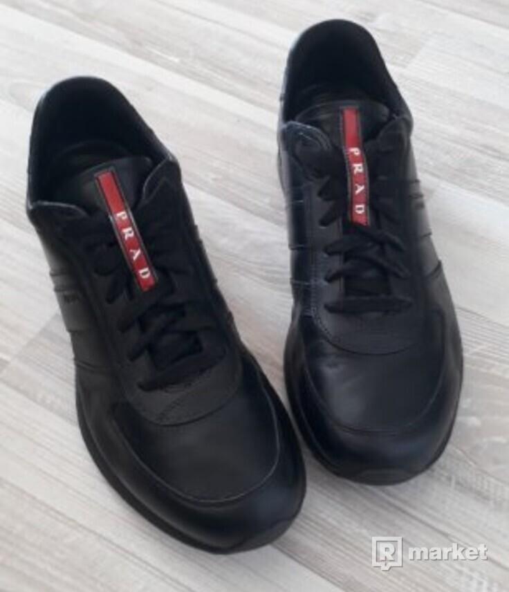 9669424edd PRADA - pánske kožené topánky