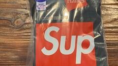 Supreme hanes black