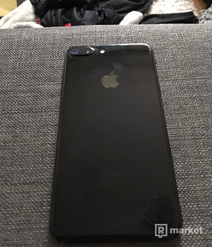 iPhone 7plus jet black 32gb