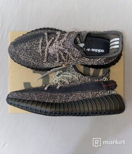 "Adidas Yeezy Boost 350 V2 ""Black"" Reflective"