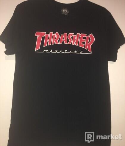 Tričko Thrasher, S, čierne