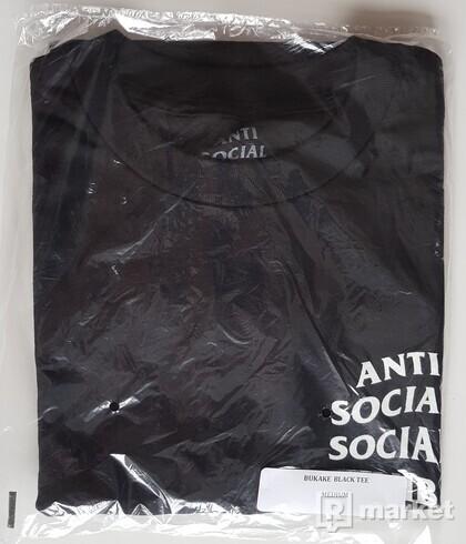 Anti Social Social Club tričko  ASSC