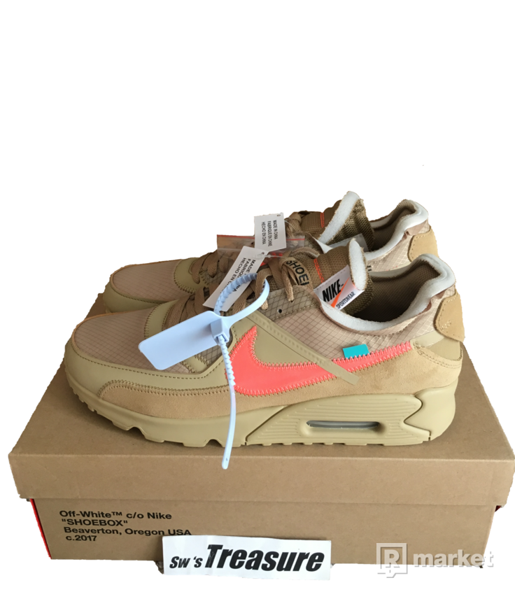 Off-White x Nike Air Max 90 US11 EU45