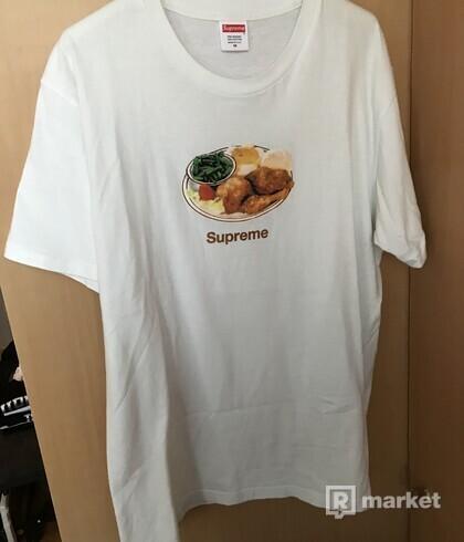 SUPREME chicken dinner tee
