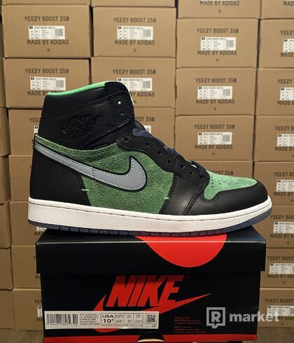 Air Jordan 1 High Zoom rage green