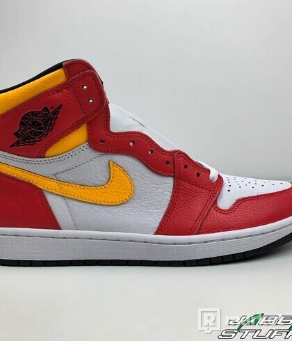 Air Jordan 1 High Fusion Red