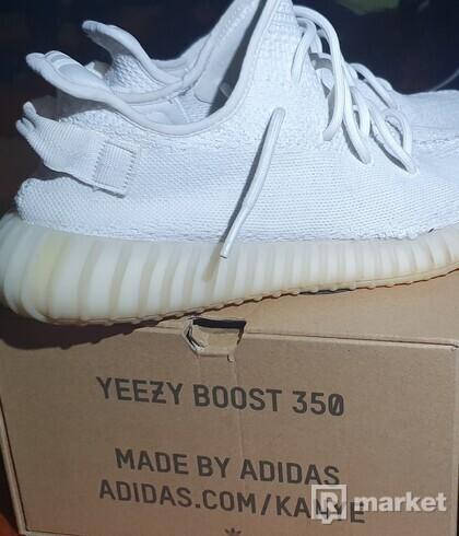 Adidas Yezzy 350 Boost Cream White