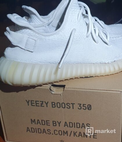 Adidas Yezzy 350 Boost Cream White