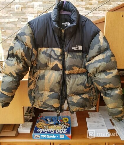 Nová zimní bunda The north face nuptse 1996 camo