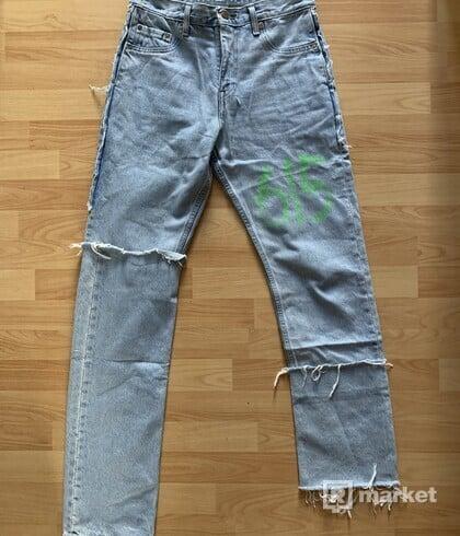 VETEMENTS x Levi's 615 Jeans