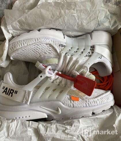 Off white presto white