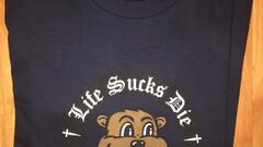 Supreme life suck die tee