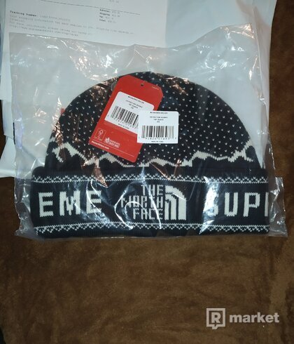 Supreme The North Face Fold Beanie Black