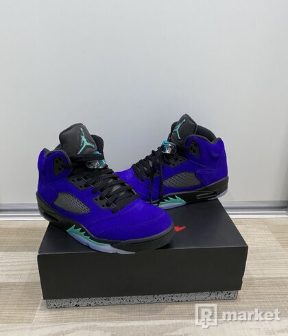 Air Jordan 5 Retro Alternate Grape