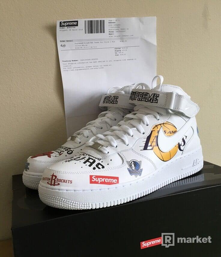 Nike x supreme x nba