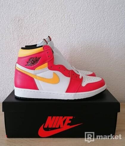 "Air Jordan 1 ""Fushion Red"""