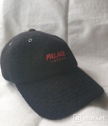 Palace Wool-Up 6-Panel Black
