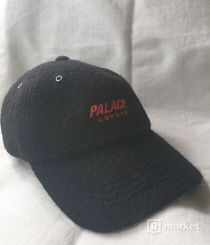 Palace Wool-Up 6-Panel Black