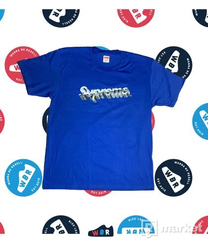 SUPREME Supreme Chrome Logo Tee