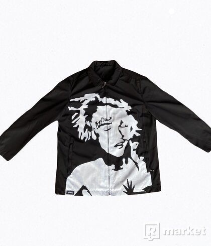 Goth Angel Sinner Coach Jacket