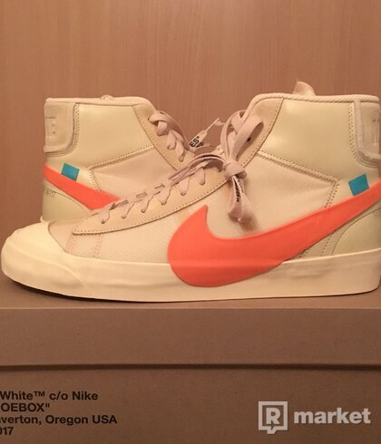 Off White x Nike Blazer Mid Hallow's Eve