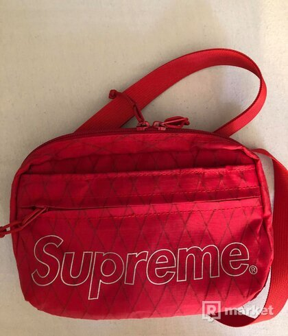 Supreme Shoulder Bag (FW18) Red reflecitve