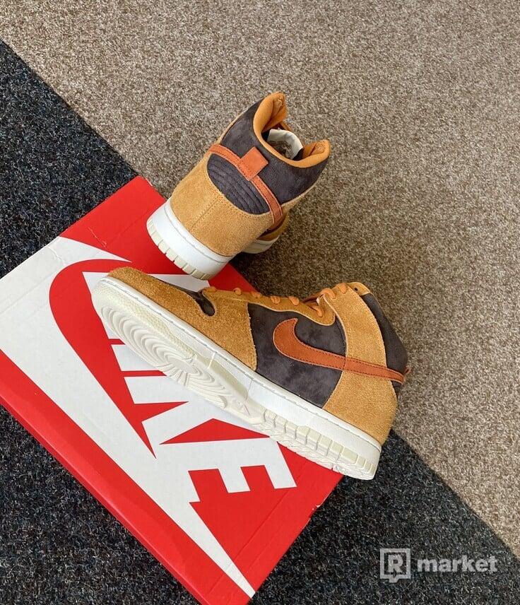 Nike Dunk High Dark Russet