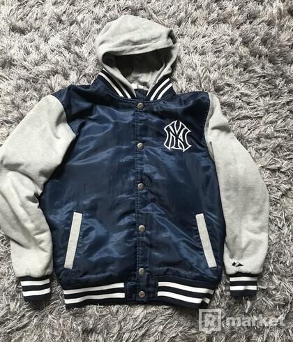 Ny Yankees Majestic baseball jacket + h&m bombera zadarmo
