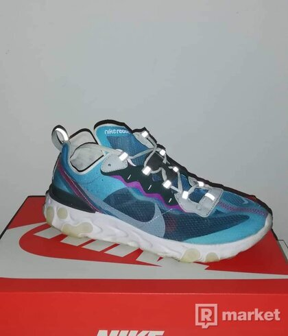 Nike React Element 87 Blue