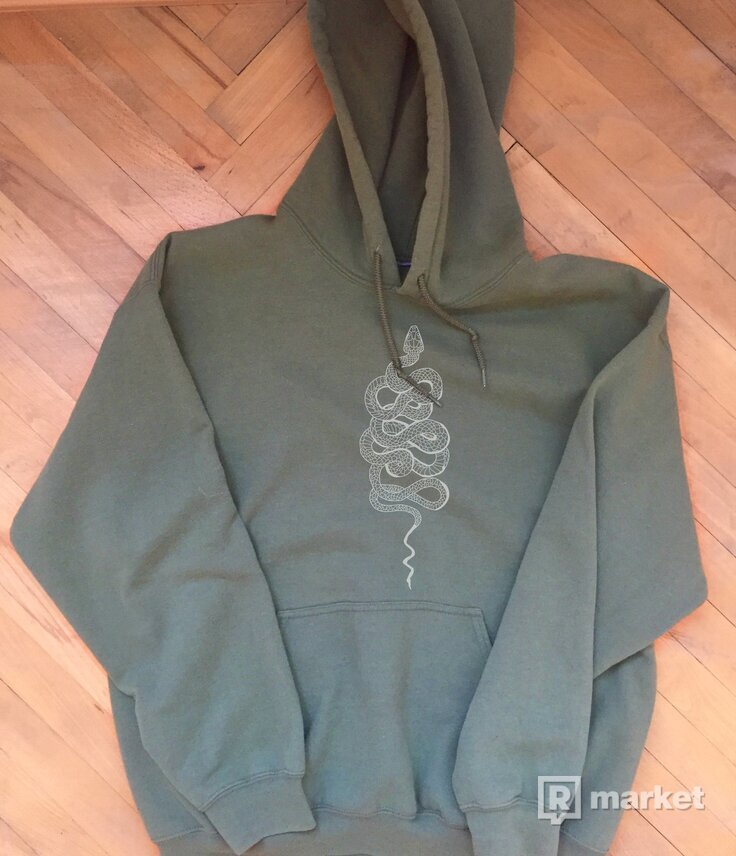 Snake hoodie