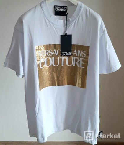 bílé tričko Versace, 1150 Kč