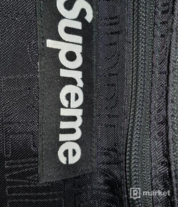 Supreme waist bag ss19 black