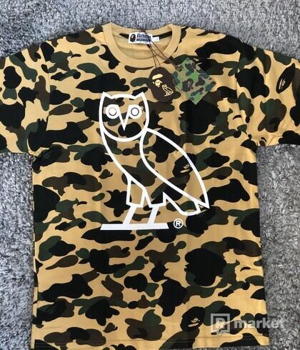 Bape x OVO 1st Camo T-shirt