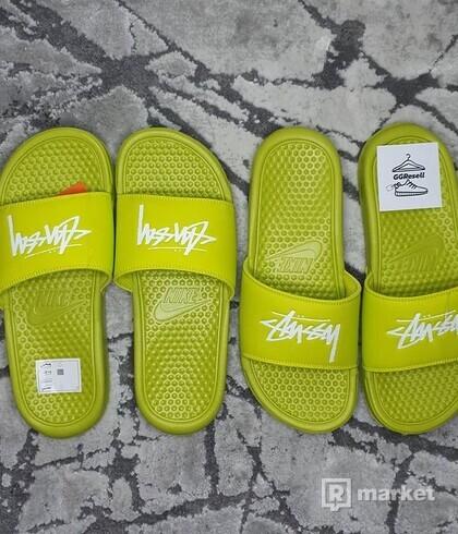Nike x Stüssy Benassi Slides