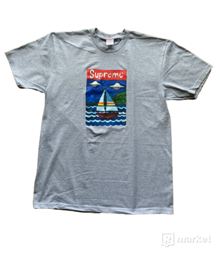 Supreme sailboat tee