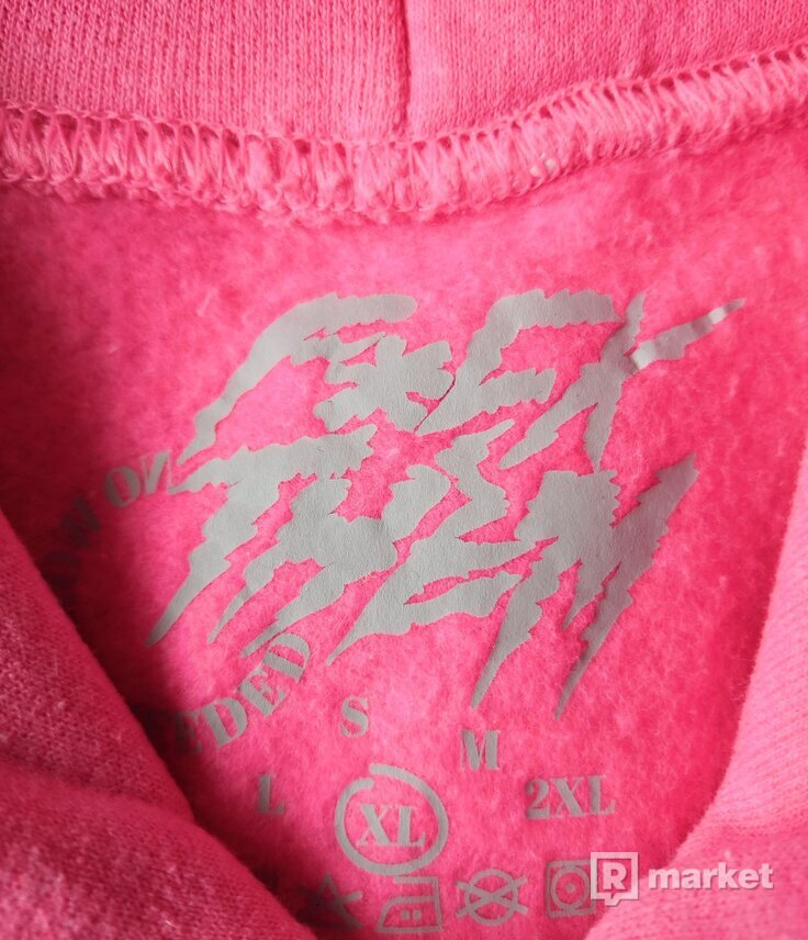 F*CK THEM Neon Pink Hoodie Limited Edition