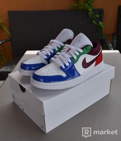 Nike Air Jordan 1 Low Multi Color